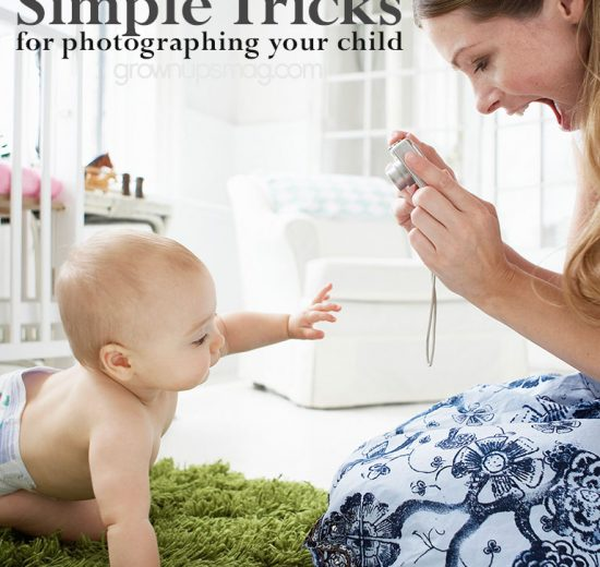 Photographing Your Child