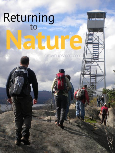 Returning to Nature - Copyright Mark Lawler