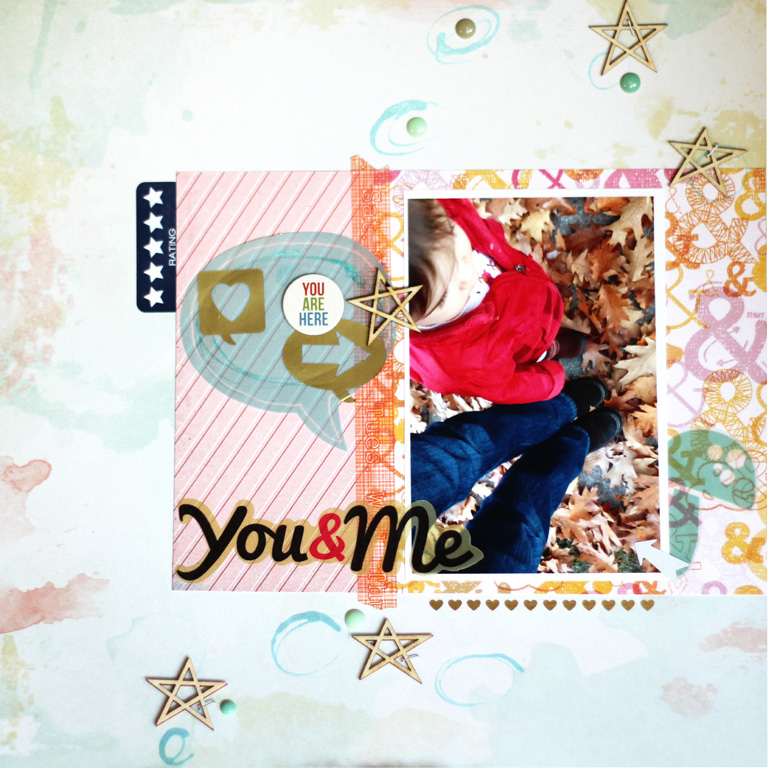 Scrapbook Layout Copyright Tricia Romo