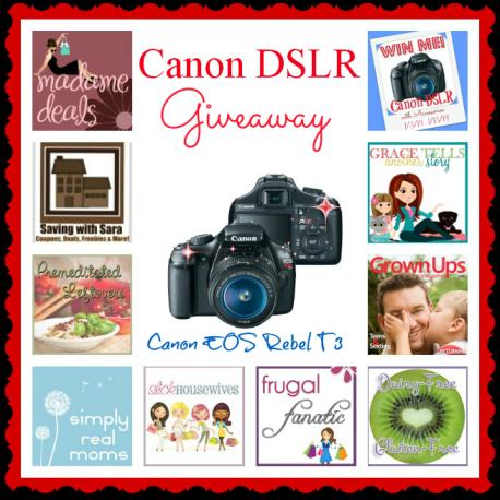 Win a Canon DSLR!