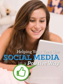 Helping Teens Use Social Media