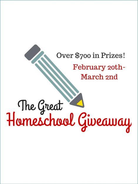 Homeschool Giveaway