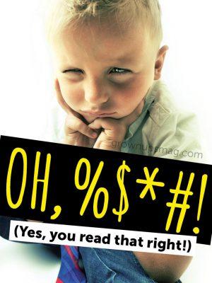 Kid Swearing Cursing