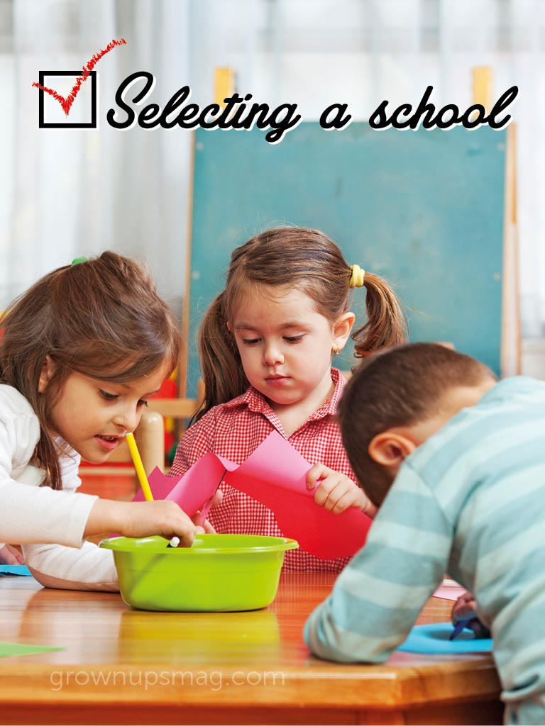 Selecting a School