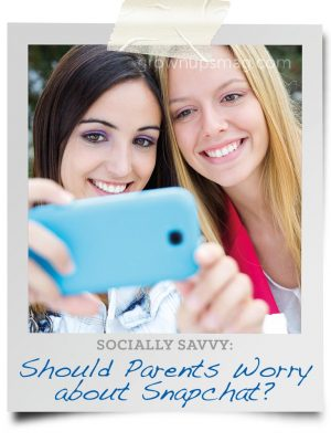 Should parents worry about Snapchat?