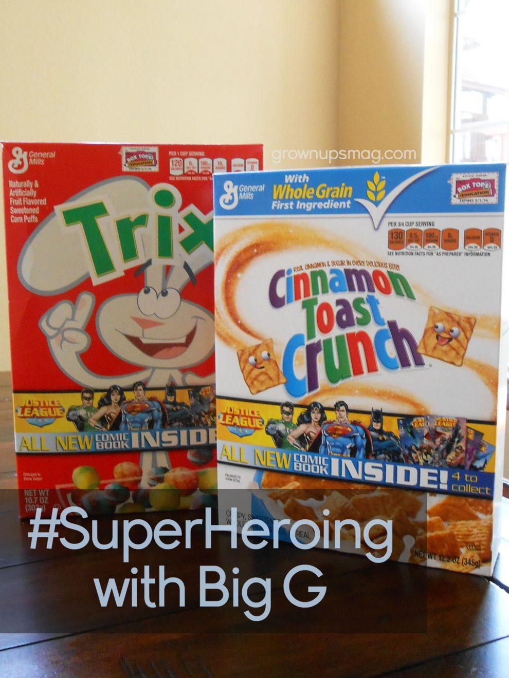 SuperHeroing with Big G