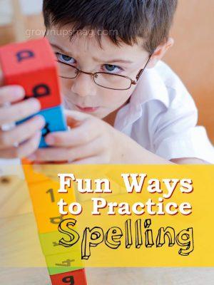 Fun Ways to Practice Spelling - Grown Ups Magazine