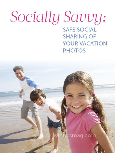 Safe Sharing of Vacation Photos