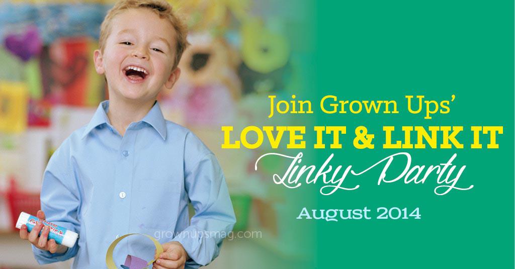 Grown Ups Magazine August 2014 Linky