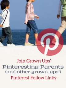 Grown Ups Magazine Pinterest Follow Linky