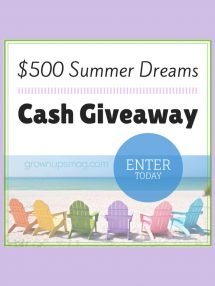 Summer Dreams Giveaway