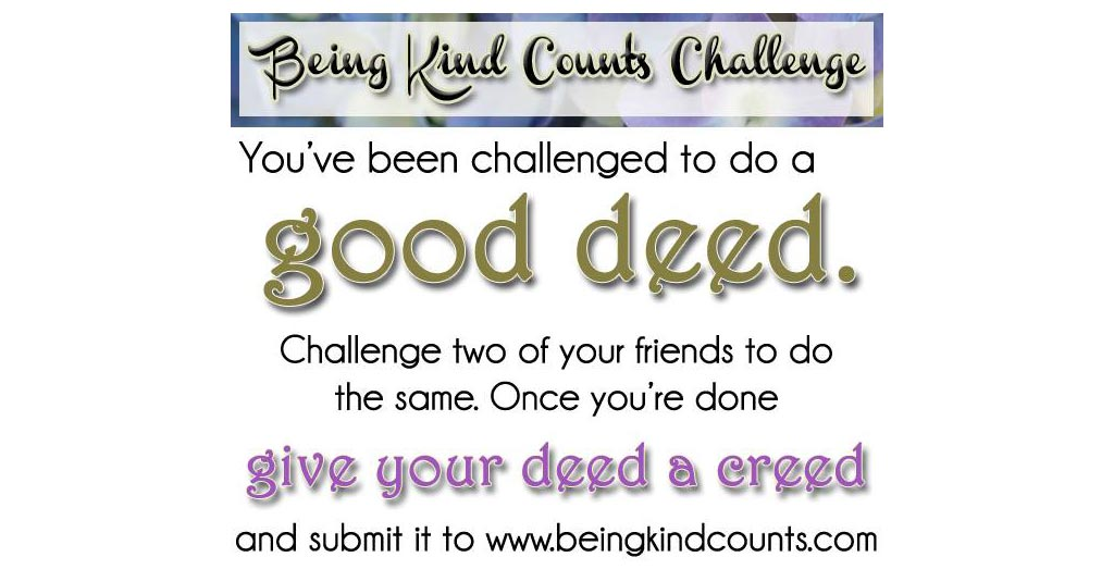 Being Kind Counts Challenge