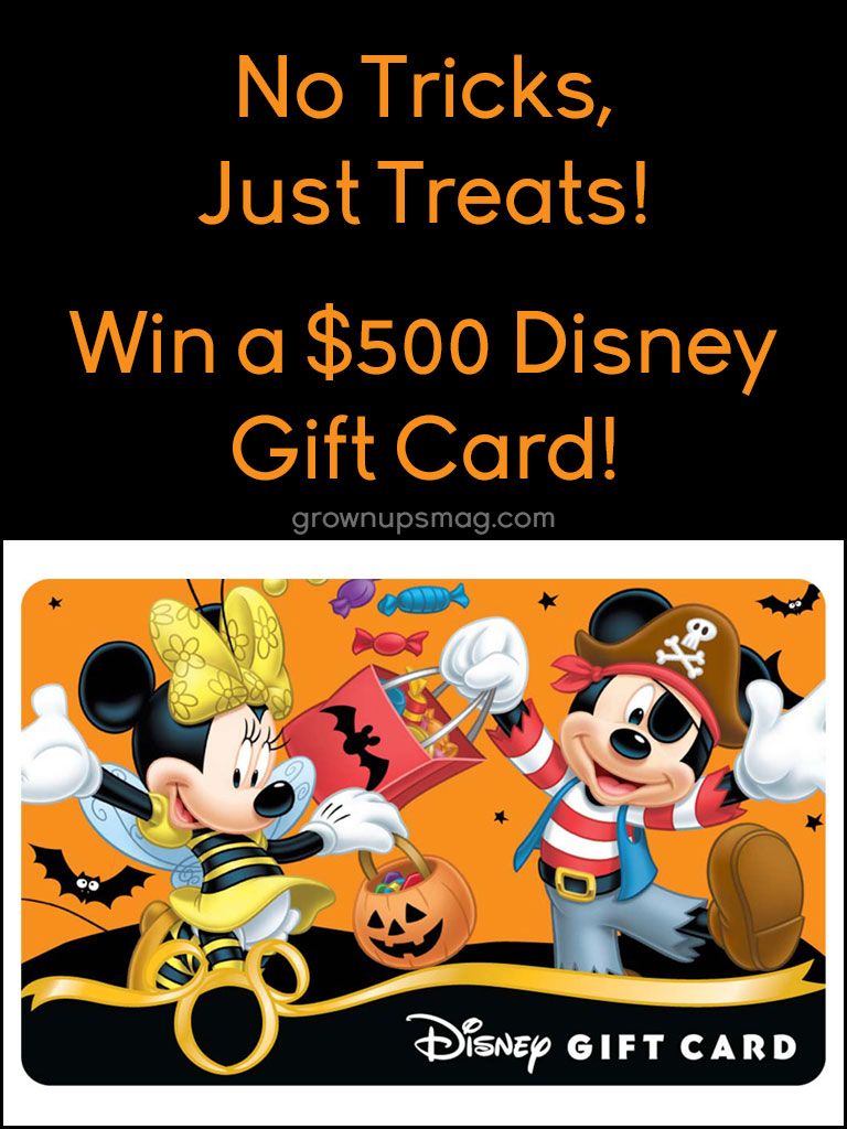 Win Disney Gift Card