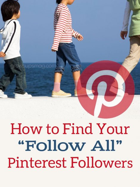 Find Your Follow All Pinterest Followers