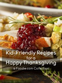 Recipes for Kids Thanksgiving