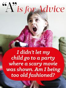 """A"" is for Advice - Scary Movies - Grown Ups Magazine - Is your child ready for a scary movie? The answer may surprise you."