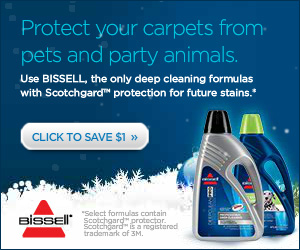 Get a Bissell Coupon