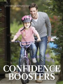Confidence Boosters - Grown Ups Magazine - Five tips to create tenacious tots.