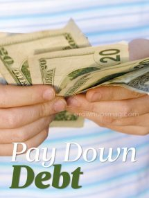 Pay Down Debt - Grown Ups Magazine - Stuck in a debt spiral? Start breaking free with these three big tips.