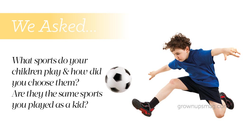 We Asked What Sports You Play