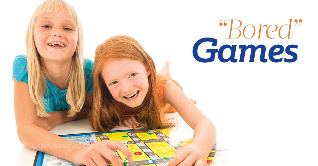 """Bored"" Games - Grown Ups Magazine"