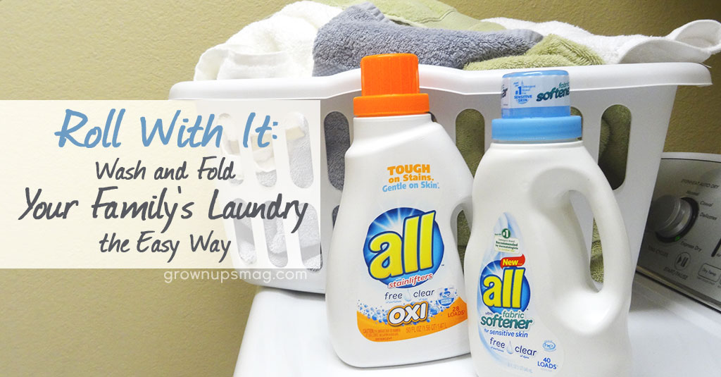 Wash and Fold Laundry with all free clear