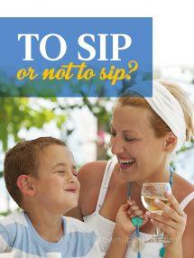 Kids Tasting Alcohol