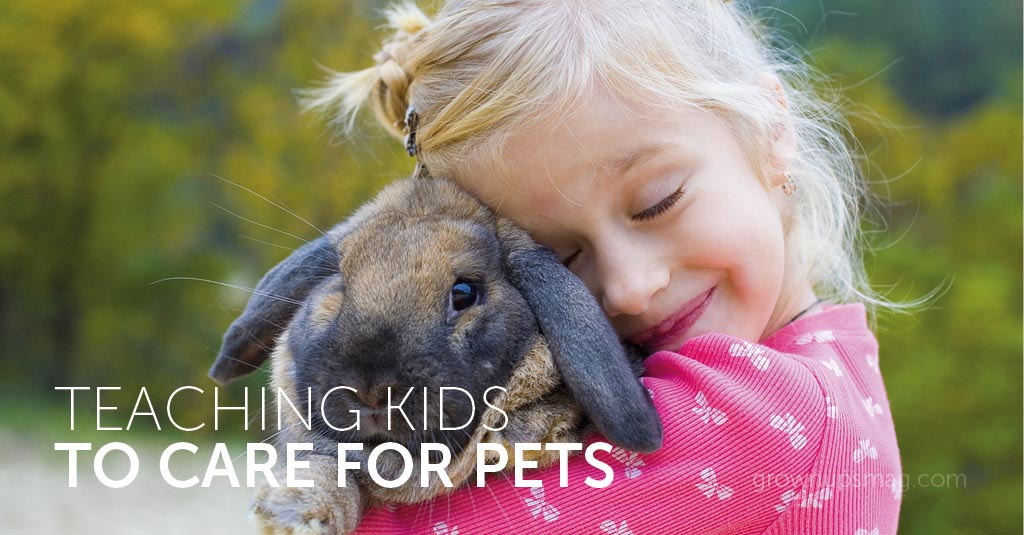 Teach Kids to Care for Pets