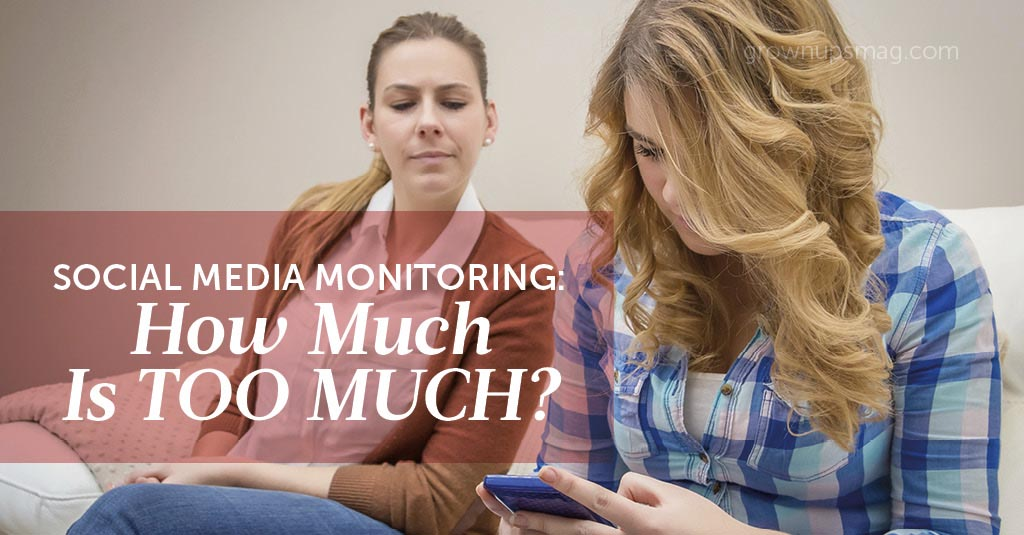 Monitoring Teens Social Media