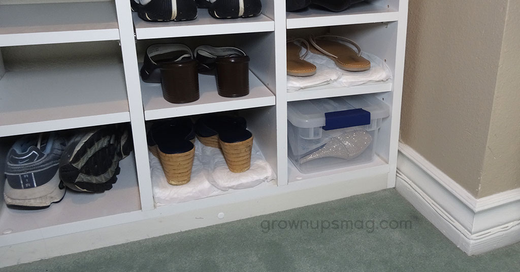 Tidy Shoe Closet