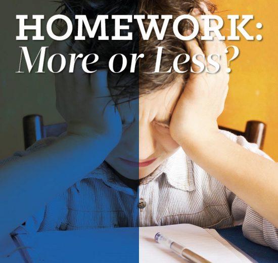 Homework: More or Less? - Grown Ups Magazine