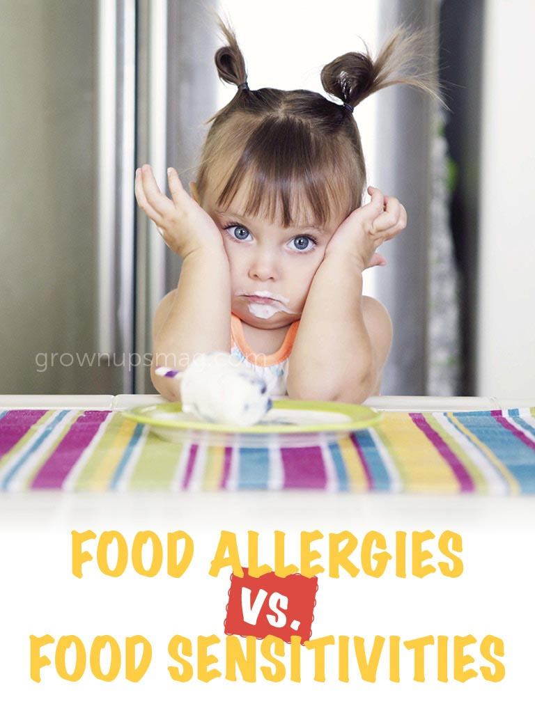 Food Allergies vs. Food Sensitivities - Grown Ups Magazine - Read on to explore the differences between food allergies and food sensitivities.