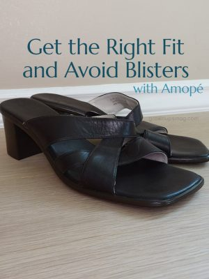 Get the Right Fit and Avoid Blisters with Amopé - Grown Ups Magazine - The right shoe fit makes all the difference. Try these tips for trying on new shoes and achieving a perfect fit.