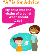 """A"" is for Advice – Bullying"