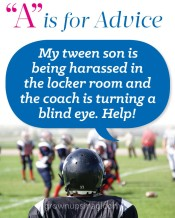 """""""A"""" is for Advice – Locker Room Woes"""
