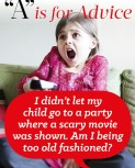 """""""A"""" is for Advice – Scary Movies"""