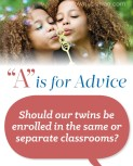 """A"" is for Advice – Twins"