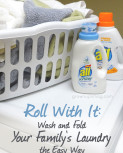 Roll With It: Wash and Fold Your Family's Laundry the Easy Way