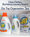 Clean Clothes, But Messy Laundry Room? Our Top Organization Tips!