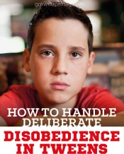 How to Handle Deliberate Disobedience in Tweens