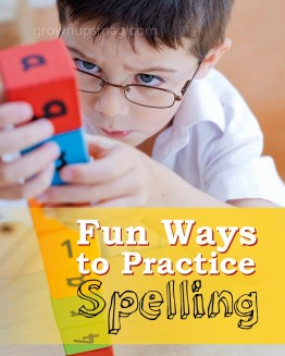 Fun Ways to Practice Spelling