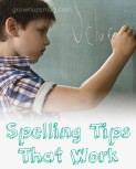 Spelling Tips That Work