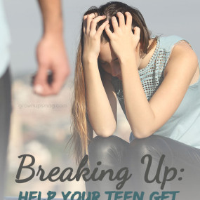Breaking Up: Help Your Teen Get Over Their First Love