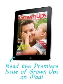 Read Grown Ups on iPad!