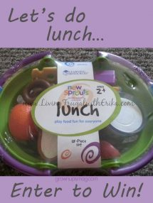 Win a Pretend Play Food Set