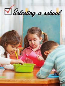 Selecting a School