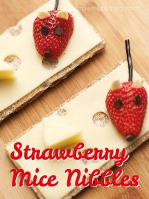 Strawberry Mice and Cheese