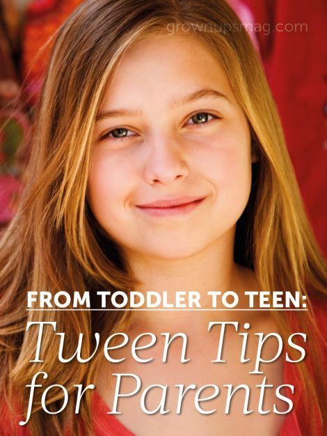 Tween Tips for Parents
