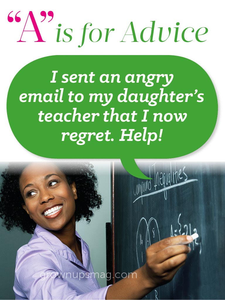 """""""A"""" Is For Advice – Angry Emails Ahoy! - Grown Ups Magazine"""