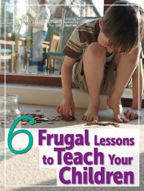Frugal Lessons for Children